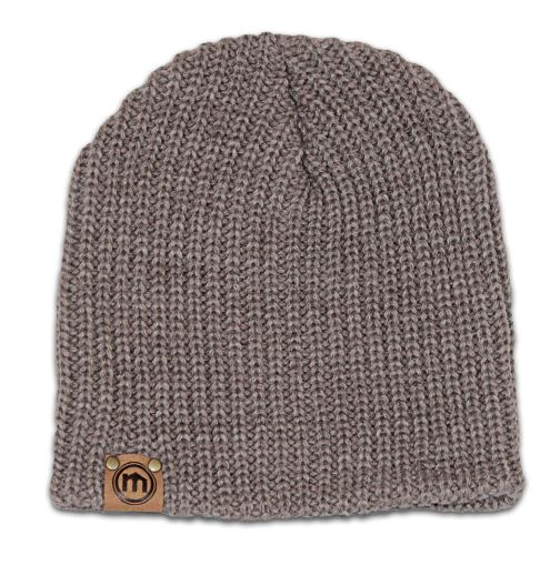 Miscoots Brown Heather Beanie, $30