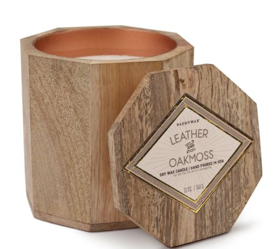 Paddywax's Leather & Oakmoss Candle at SEED People's Market