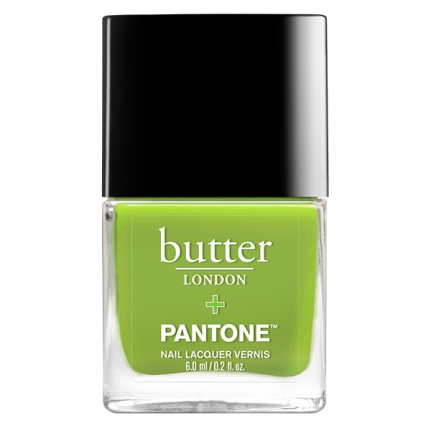 Butter London lacqure in Greenery