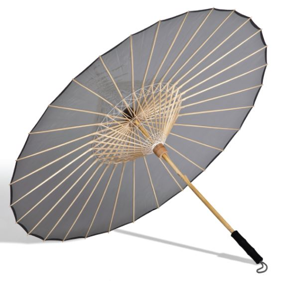 The BRELLI Grey Collection Medium Umbrella, $84, Photo Cred: The BRELLI