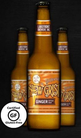 Lakefront Brewery New Grist Ginger Gluten-Free Ginger Style