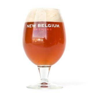 New Belgium Signature Globe Glass, $7.50, Photo Cred: New Belgium