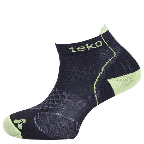 Teko Men's RunFit Running Fitness Socks Light Cushion Low Cut Height, $15 Photo Credit: Teko