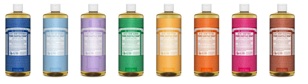 Photo Cred: Dr. Bronner's