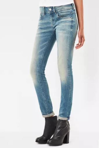 G Star Raw Lynn Mid Skinny Jean, $160, Photo Cred: G Star