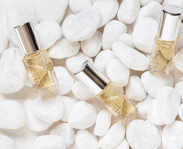 GIVESCENT Fragrances, $49 for 5 ml, Photo Cred: GIVESCENT