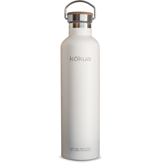 Kōkua Water Bottle, Photo Cred: Kōkua