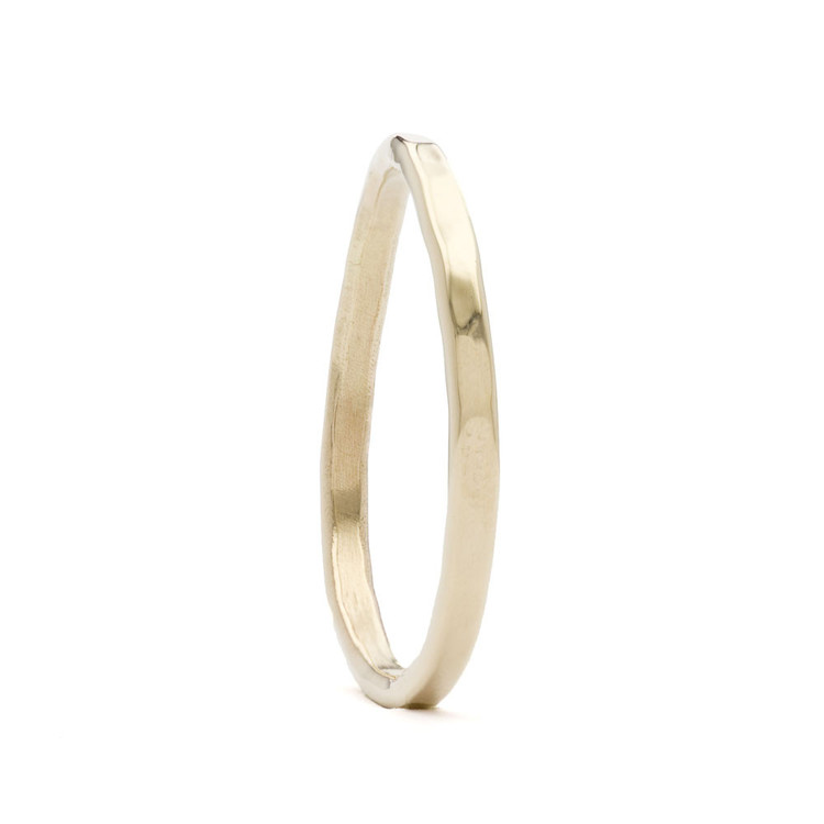 Dainty Hammered Ring, 18K Gold from Maggie Fine Jewelry, $180, Photo Cred Maggie Fine Jewelry