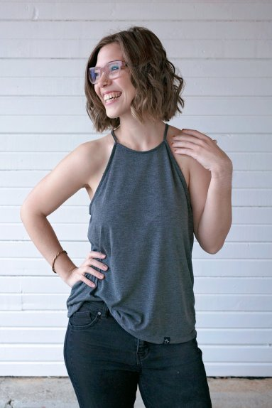 Threading Water Women's Flowy High Neck Tank $32.98, Photo Cred: Threading Water