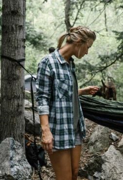 United By Blue Stargrass Relaxed Plaid Button Down, $78, Photo Cred: United By Blue
