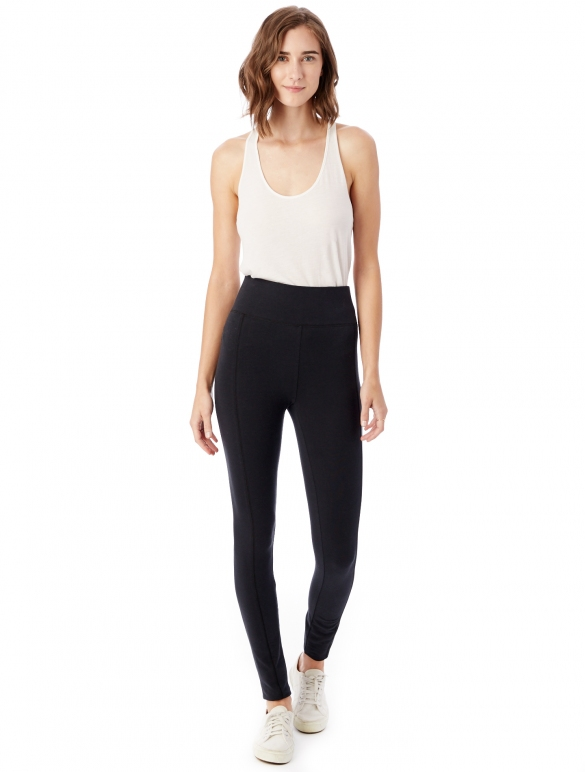 Alternative Apparel Bonjour Spandex Jersey Legging, $58, Photo Cred: Alternative Apparel