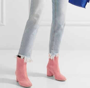 Brother Vellies Kaya Boot in Flamingo, $495, Photo Cred: Brother Vellies
