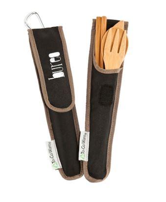 Bureo To-Go Ware Bamboo Utensil Set, $15, Photo Cred: Bureo
