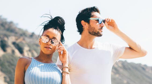 Dharma Radiance Sunglasses in Desert Rose, $59, Photo Cred: Dharma