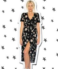 Cayman Wrap Dress, $110 from Bleusalt