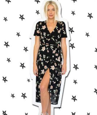 Cayman Wrap Dress, $110 from Bleusalt