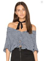 CP Shades Georgia Front Tie Top, $129 from Revolve