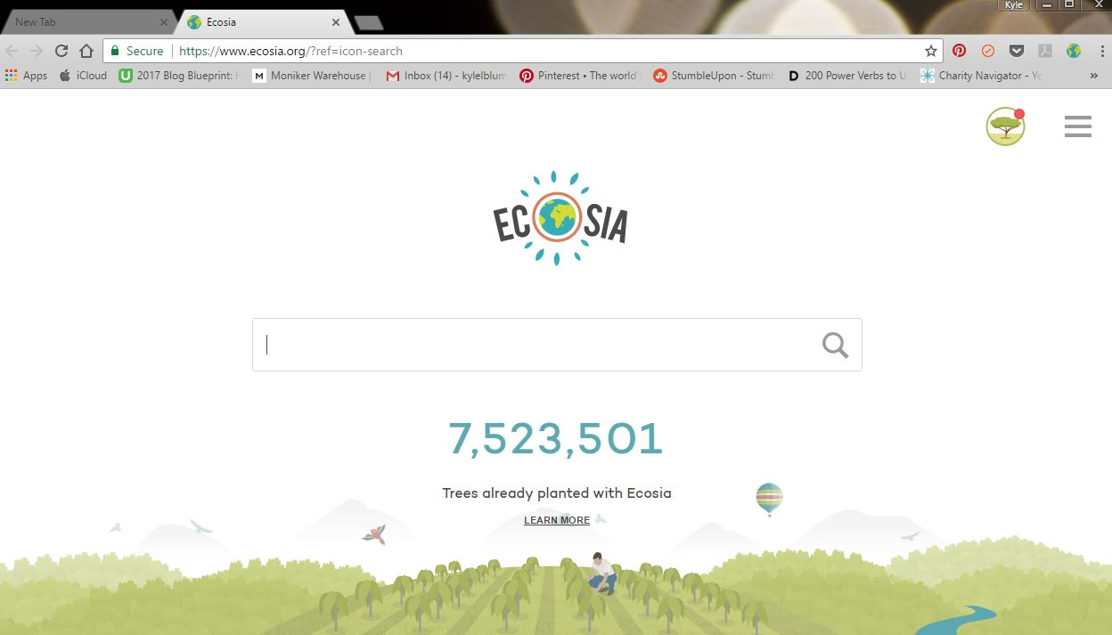 Ecoasia Search Engine