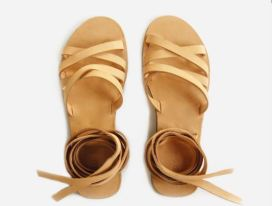 Enrou Onika Wrap Sandal, $75, Photo Cred: Enrou