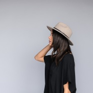 Equal Uprise Traditional Fedora in Grey, $80, Photo Cred: Equal Uprise
