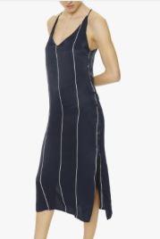 Faithfull Blanc Midi Dress with Riptide Stripe, 190€ from Alma Santa
