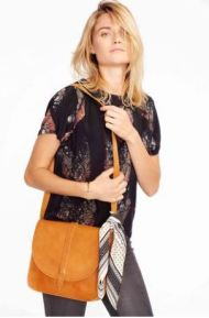 Fashionable Tirhas Cognac Saddlebag, $118 from Accompany, Photo Cred: Accompany