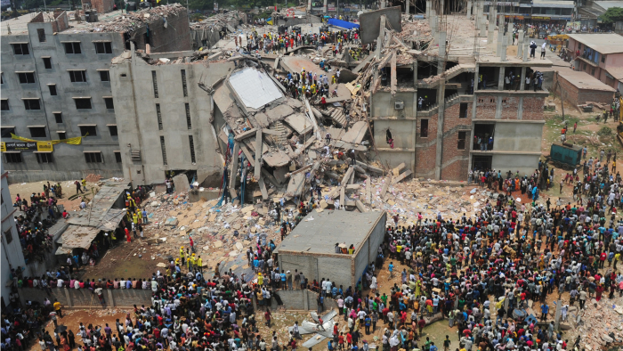 Rana Plaza, Photo Cred: Fashion Revolution