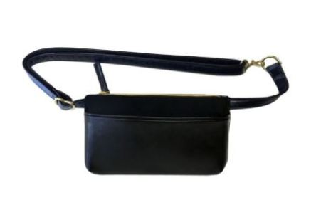 Hipsters for Sisters Pocket Bum Bag in Black, $198, Photo Cred: Hipsters for Sisters