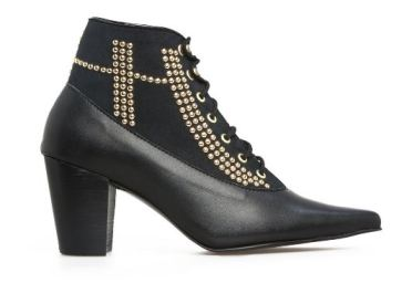 Nicora Wynonna Studded Ankle Boot - Black, $464, Photo Cred NIcora