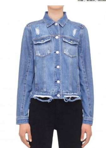 Nobody Denim Original Jacket Two Tone, $249 AUD