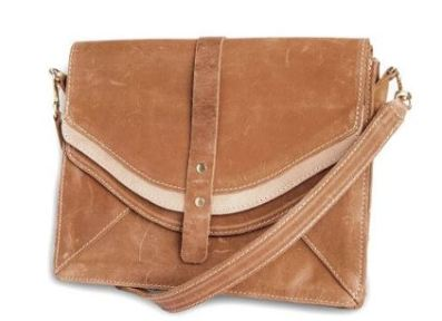 Sseko Designs Saddle Crossbody Bag, $139.99, Photo Cred: Sseko Designs