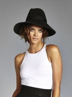 The Cole Felt Hat from Vaute, $160, Photo Cred: Vaute