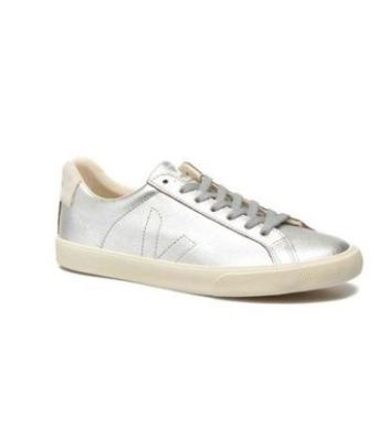 Veja Esplar Silver Leather Sneaker, $125 from Accompany, Photo Cred: Accompnay