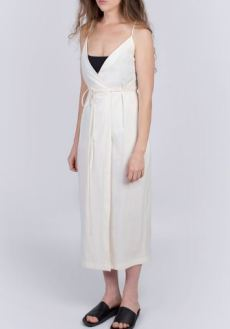Veryan #020 Dress White, £155 from Gather & See