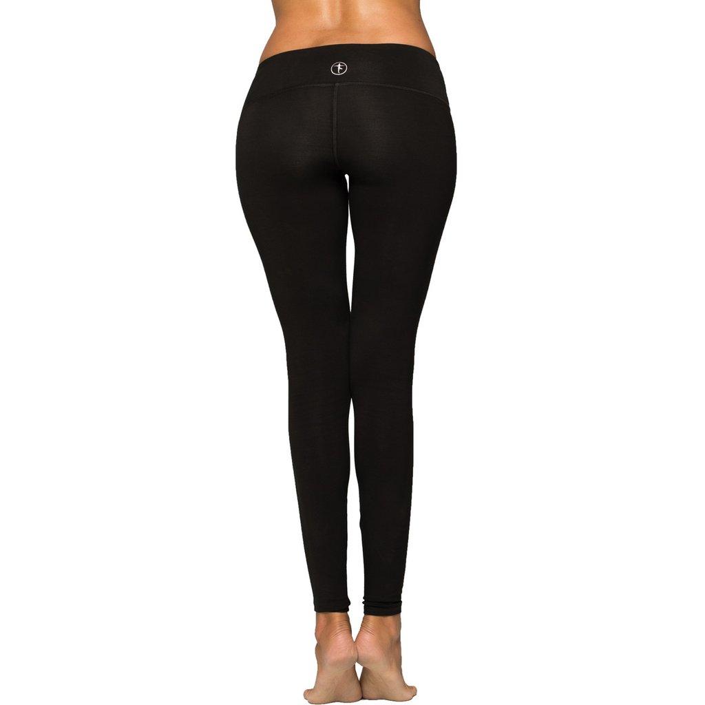YOGiiZA Black Organic Cotton Yoga Pants, $85, Photo Cred: YOGiiZA