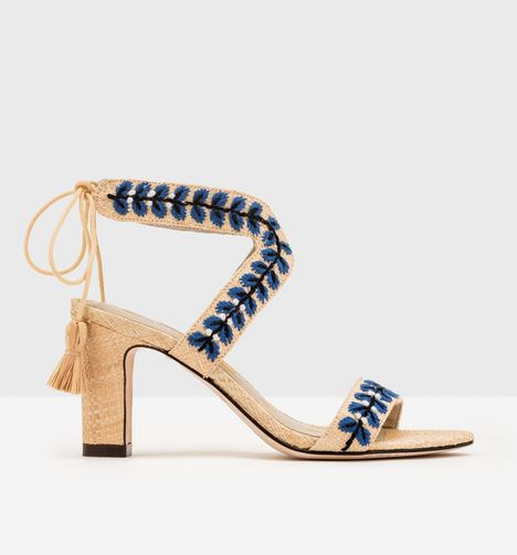 Caterina Embroidered Heels, $200 from Boden, Photo Cred: Boden