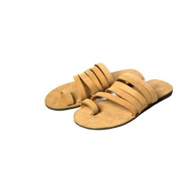 Meyelo Sekon Nubuck Leather Sandal, $75 from Accompany, Photo Cred: Accompany