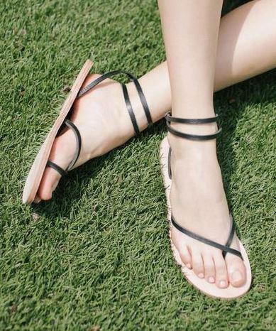 Nisolo Cora Wrap Sandal, $68, Photo Cred: Nisolo