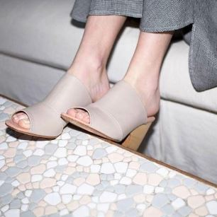Rachel Comey Polished Cinder Dahl Mule, $438 from Accompany, Photo Cred: Accompany