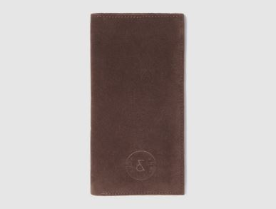 Stint - Brown Vegan Leather Wallet, $29.95, Photo Cred: Rust & Fray