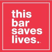 this bar saves lives Logo, Photo Cred: this bar saves lives