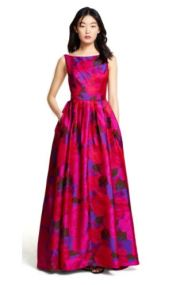 Adrianna Papell Floral Ball Gown, $75 from Style Lend