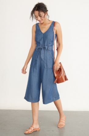 Amour Vert Gisella Chambray Jumpsuit, $178, Photo Cred: Amour Vert