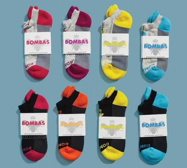 Bombas Socks, Photo Cred Bombas