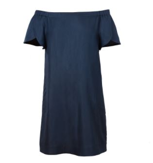 Cuyana Linen Off-The Shoulder Dress, $175, Photo Cred: Cuyana