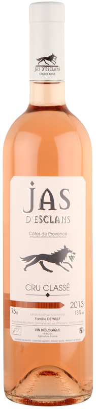Domaine Jas d'Esclans AOC Côtes de Provence Cru Classé, £12.95 from Vintage Roots, Photo Cred Vintage Roots