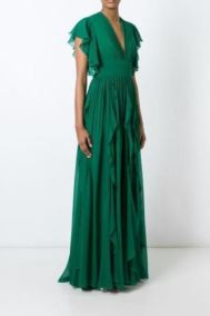 Elie Saab Ruffle Sleeve Gown, $135 from Style Lend