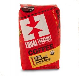 Equal Exchange French Roast Coffee, Photo Cred Equal Exchange