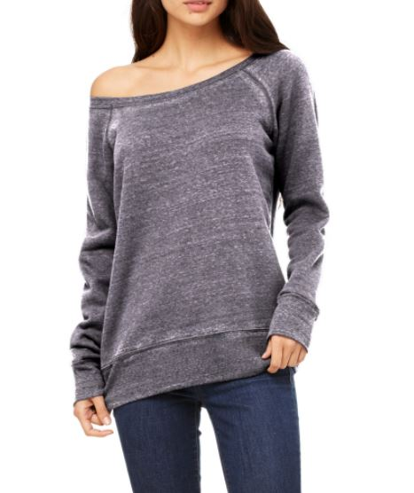 Live the Give The Wide Neck Sweatshirt, $29, Photo Cred Live the Give