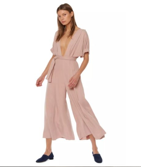 Mara Hoffman Plunging V-Neck Jumpsuit, $375, Photo Cred: Mara Hoffman